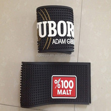 Bar manufacturer rubber beer bar mat for wine accessory