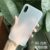 Ultra thin 0.3mm Slim Matte Transparent Back Case For iPhone x