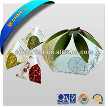 fashion design customized star shape paper box