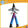 Airplane shaped cheap inflatable sky dancer for sale