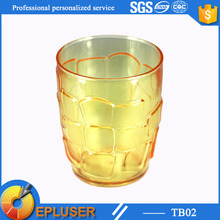 Latest design plastic cup 9oz mug cups wholesale plastic wine glasse