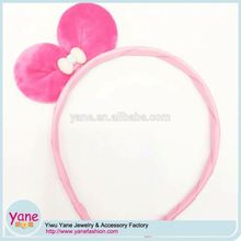 Polyester bowkont soft touch hairband animated headbands