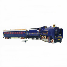 Vintage Tin Train Model Toy / Wind Up Train for adult collections and home decoration