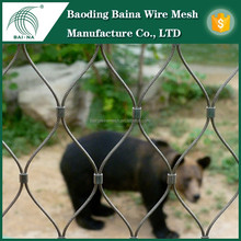 Exhibition Durable Tiger Enclosure Mesh for zoo (factory)
