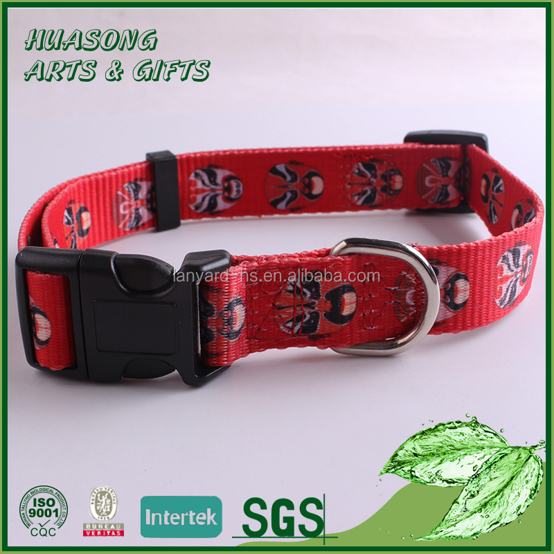 Wholesale custom Nylon Dog Collar for Pet Safety from China