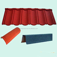 Dongyue China colorful metal stone roofing sheets /galvalume roofing /aluminium zinc steel stone coated roofing tile