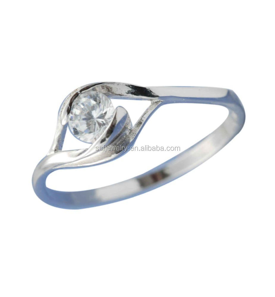 wholesale cheap sterling silver rings fashion jewelry made in china
