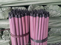 Plastic plastic coated poles made in China