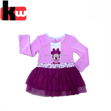 Beautiful GirlsParty Dress Latex Baby Girl Dress New Arrival