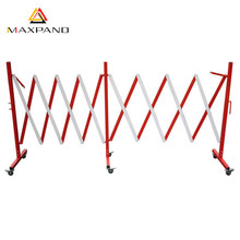 MAXPAND Outdoor Flexible Steel Retractable Safety Fence Folding Traffic Barrier