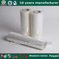 Manufacturer Clear LLDPE Bale Wrapping Film