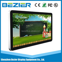 "65"" network advertising display with WIFI LAN 3G,Android digital signage"