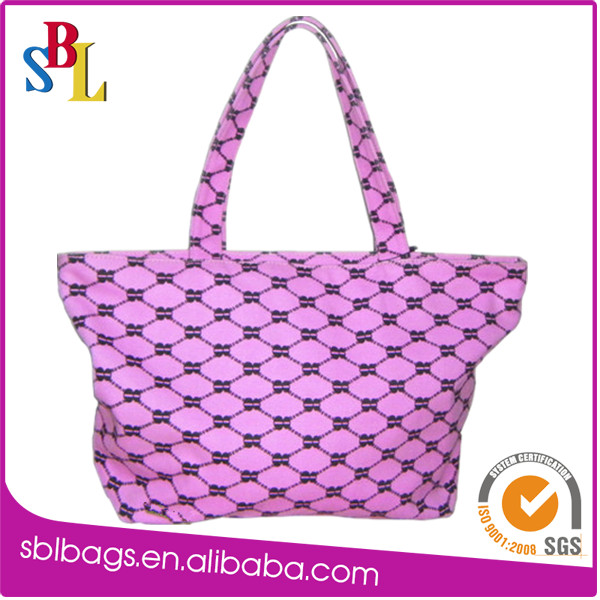 PP shopping bag with zipper&purple eco friendly bag reusable shopping bags&apple shopping bag