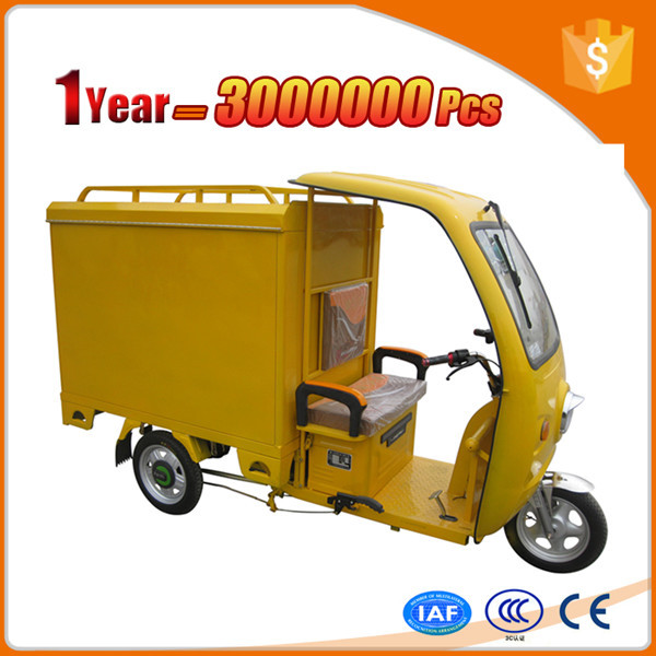 environmental protection diesel auto rickshaw with canopy