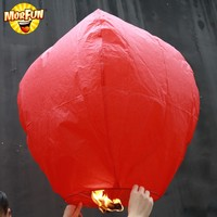 Big sale party decoration stores japanese flying lantern hanging sky paper lanterns outdoor