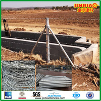 On Sale! Cheap Stock Galvanized Barbed Wire and Round Steel Post in Johannesburg