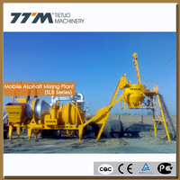 20t/h mobile asphalt drum mix plant,mobile asphalt batching plant,asphalt mixer