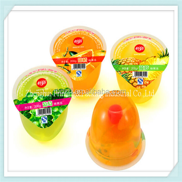 Best price PA/PE/EVA Easy open jelly pudding sealing film /jelly lidding film
