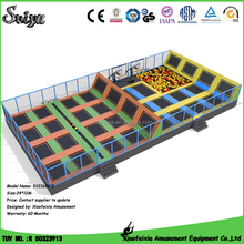 Wholesale ball pit balls best large trampoline with foam blocks