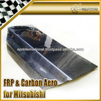 For Mitsubishi Evolution EVO 7 8 9 Carbon Fiber Trunk Boot Lid Tailgate