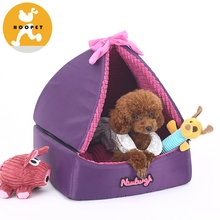 New Design Princess Lovely Dog Bed Made Canvas For Pet