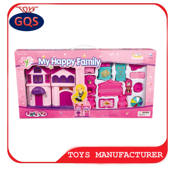 My Happy Family House Dolls Pretend Play Toy For Children