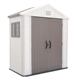 KINYING brand popular style cheap outdoor plastic garden shed for tool storage
