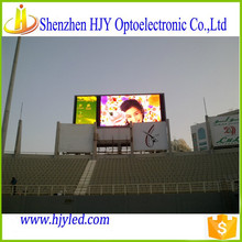 alibaba french general stadium led video board p10 led signs outdoor sports television wall led display for sale