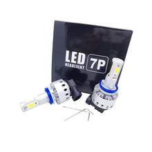 plug and play led headlight 7P conversion kit H4 H7 H11 HB3 HB4 9005 9006 201 motorcycles 80W 6000LM led headlights