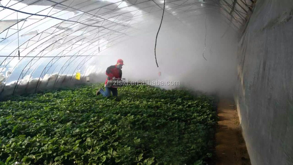 Agricultural machine mist insect fogger