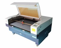 Factory price 1390 100w laser cutting and engraving machine for carpet mats, leather, rubber, pvc, fabric