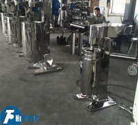 Vertical type tubu centrifuge of high speed for liquid separation,China made low pcice drum separator