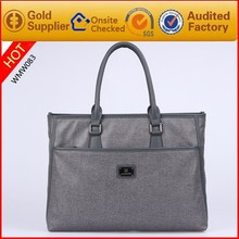 Factory Wholesale Famous brand Fabric Leather Handbag and Laptop Bags for men