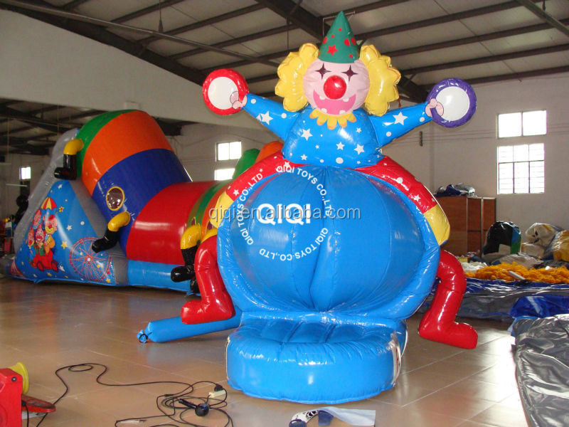 Circus vertical wind tunnel, inflatable tunnel for kids