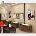 100% high quality perfume display kiosk with cosmetic shop interior furniture design