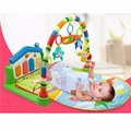 Multifunction Piano Fitness Rack,3 in 1 Music Infant Activity Play Mat