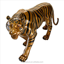 outdoor large animal statues cast bronze tiger statue for sale