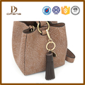 Women bag accessory genuine leather tassel leather tassels for handbag