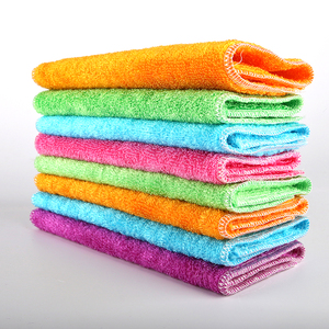 Natural plant fiber household kitchen cleaning towel