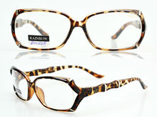 Fashion designer plastic reading glasses eyeglasses