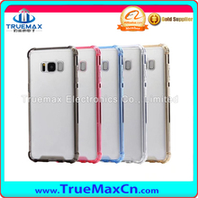High Quality Anti Falling Shockproof Mobile Phone PC TPU Back Case for Samsung Galaxy S8