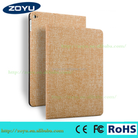 Leather Smart Case for iPad With PC TPU Combo Cover for ipad air 2