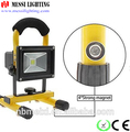 CE, GS, RoHS approve wholesales in ningbo zhejiang 10watt Aluminum rechargeable led flood light