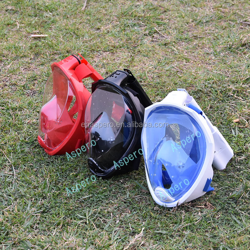 snorkel mask full face easy breath snorkel mask military diving equipment