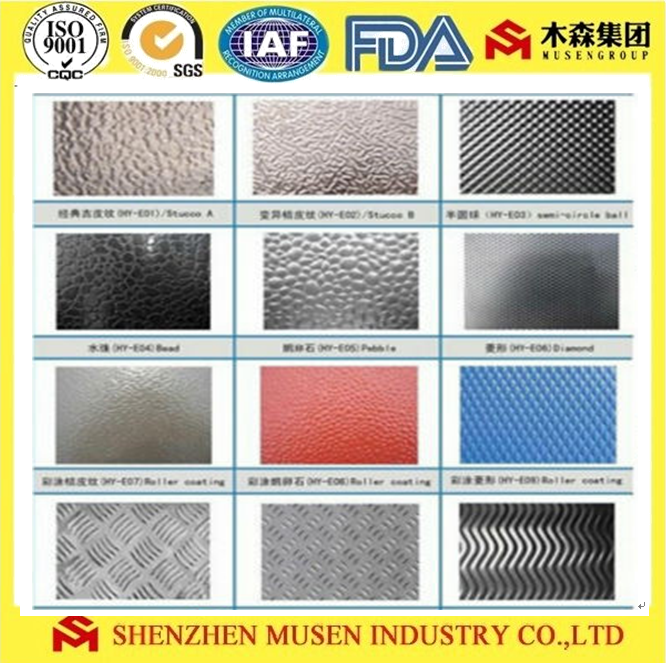 Best selling stucco embossed prepainted coated aluminum coil