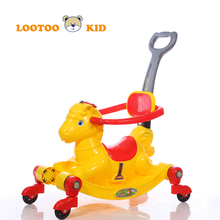 China manufacturer cheap price palstic newest model animal horse toy to ride