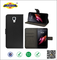 For LG X Screen Flip Wallet Case, PU Leather Phone Case For LG X Screen