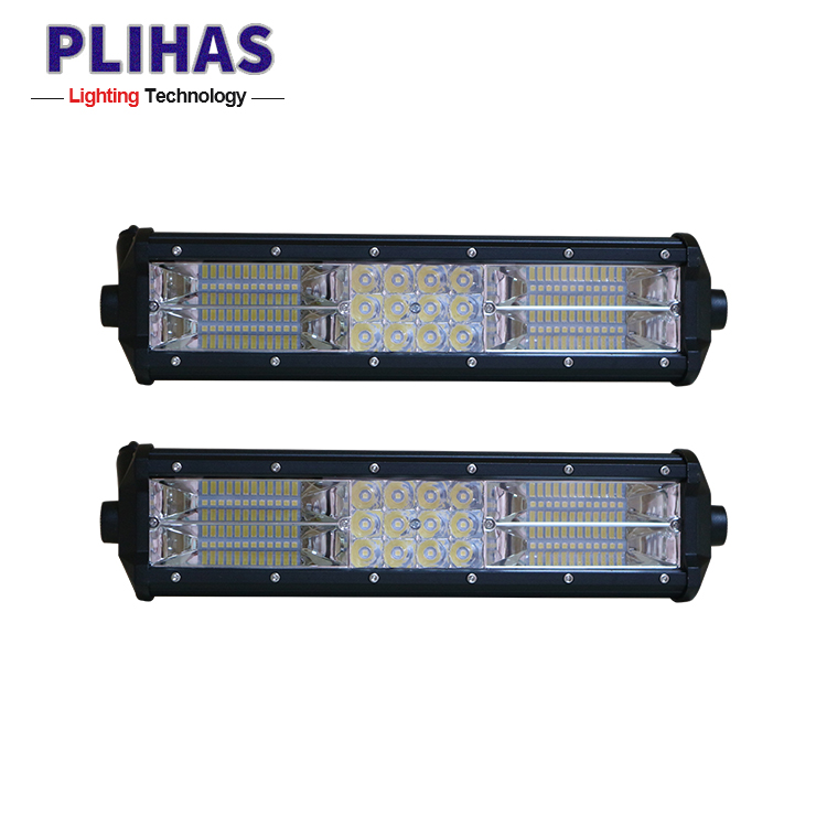 Reliable Quality 180W 6000k dual rows 12 inch yellow auto Led Light Bar slim led car lights lamp bar spotlight for offroad