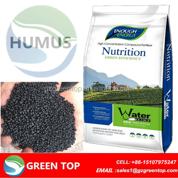 Insoluble humic acid pellets 50% leonardite