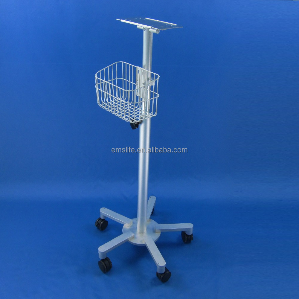 monitor medical holder roll stand medical monitor